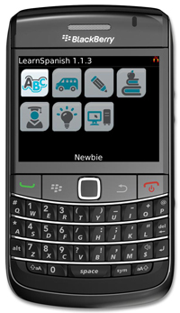 LearnSpanish for BlackBerry