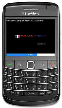 WorldDict French 2.0 for BlackBerry Version 2.0