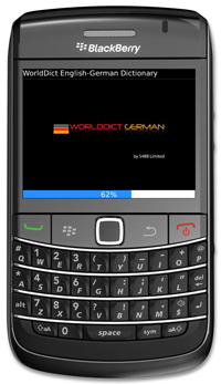 WorldDict German 2.0 for BlackBerry Version 2.0