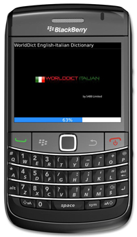 WorldDict Italian 2.0 for BlackBerry Version 2.0