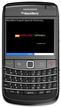 WorldDict Spanish 2.0 for BlackBerry Version 2.0