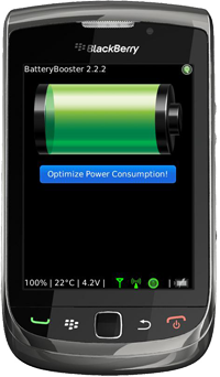 BatteryBooster 2.2 Main Screen Shot