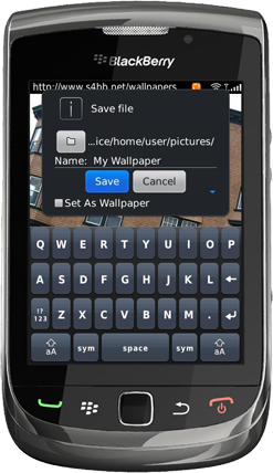 Wallpaper Megaplex for BlackBerry Wireless Handheld