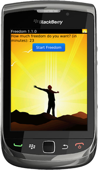 Freedom for BlackBerry Version 1.1