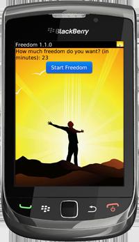 Freedom for BlackBerry Version 1.1