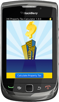 Hong Kong Property Tax Calculator for BlackBerry Version 1.1