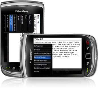 Rotation Lock for BlackBerry smartphone