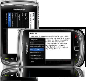 Rotation Lock for BlackBerry smartphone