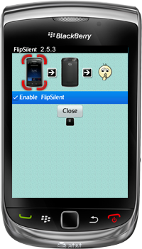 FlipSilent for BlackBerry Smartphones - Instructions