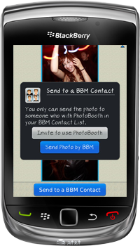 Photo Booth for BlackBerry Smartphones - Frame colors