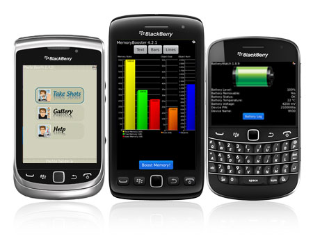 S4BB apps on the new BlackBerry smartphones