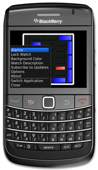 Flash Watch for BlackBerry Smartphones