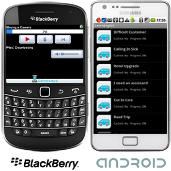Learn Spanish for BlackBerry and Android Smartphones