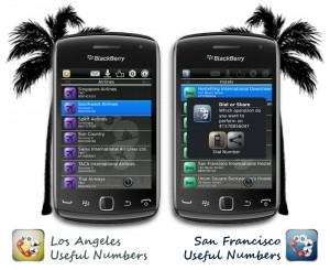 LA and SF Useful Numbers