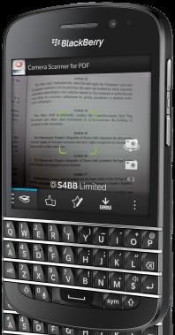 Camera Scanner for PDF