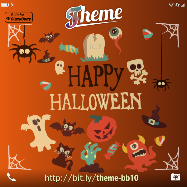 theme launched a new 2015 halloween theme for blackberry 10 s4bb